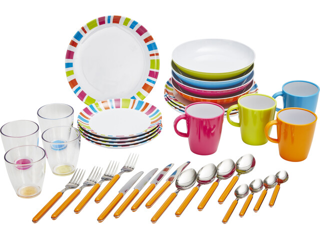 Brunner All Inclusive Dishes Set, multicolor